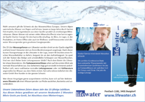 Photo 10 years lifewater